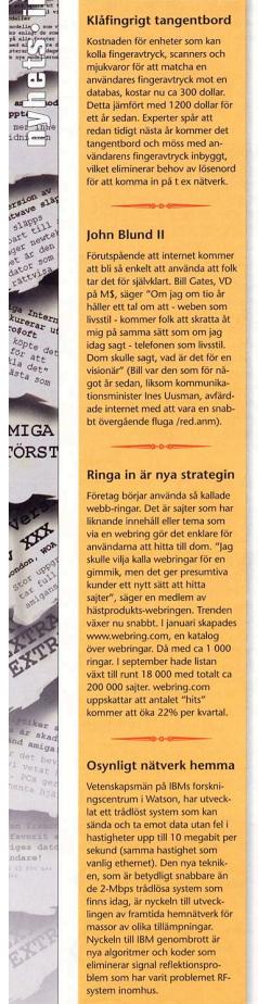 Nyheter om framförallt internet i AmigaInfo #15 1997