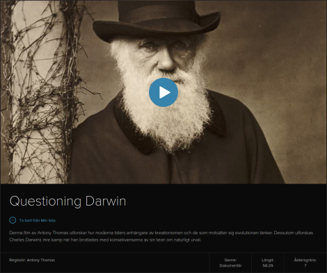 Questioning Darwin – Dokumentär från aktuell kunskap