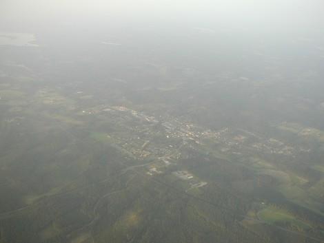 Moheda från luften augusti 2002.