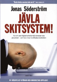 """Framsidan boken """"Jävla skitsystem!"""""""