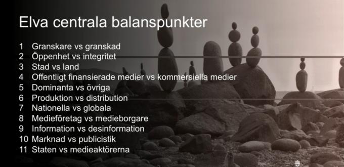 ;edieutredninger Balanspunkter