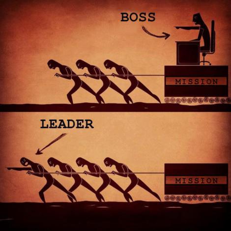 Chef till ledare