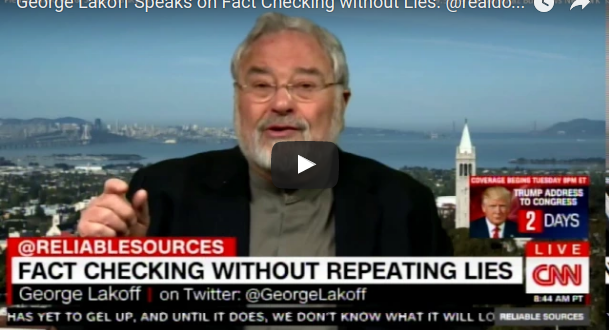 George Lakoff om Framing på CNN